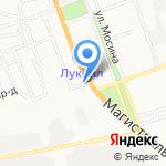 На молодежке на карте Астрахани