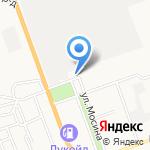 АсПак на карте Астрахани