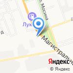 Пятый угол на карте Астрахани
