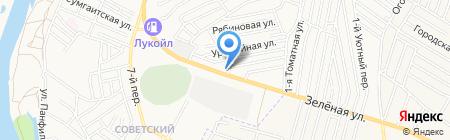 ФартСтройСервис на карте Астрахани