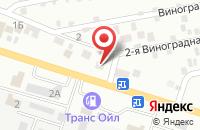 Схема проезда до компании ФартСтройСервис в Астрахани