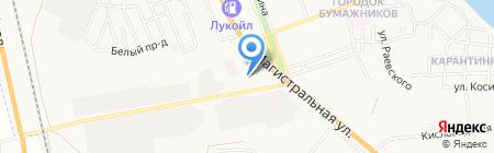 Общежитие Профессиональное училище на карте Астрахани