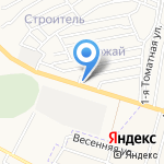 Эльвин на карте Астрахани