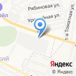 Пункт технического осмотра на карте Астрахани