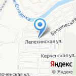 Гусь Лапчатый на карте Астрахани