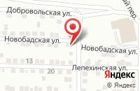 Схема проезда до компании Гусь Лапчатый в Астрахани