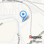 Спортивный клуб на карте Астрахани