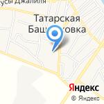 Татаробашмаковская средняя общеобразовательная школа на карте Астрахани