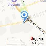 Вираж-Авто на карте Астрахани