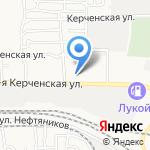 Рапак на карте Астрахани