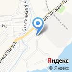 Выбор на карте Астрахани