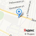 Двери-Строй на карте Астрахани