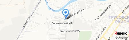 Рыбоперерабатывающее предприятие на карте Астрахани