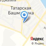 Минимаркет на карте Астрахани