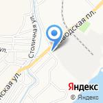 АЛИРА на карте Астрахани