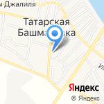 Магазин игрушек и канцтоваров на карте Астрахани