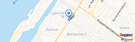 ВОЛЬТ МАРКЕТ на карте Астрахани