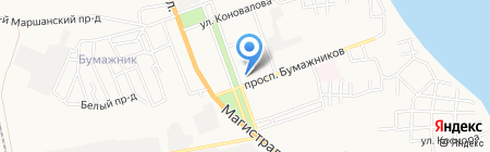 Песочная сказка на карте Астрахани
