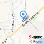 Газпром на карте Астрахани