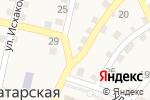 Схема проезда до компании Бабочка в Татарской Башмаковке