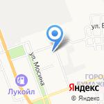 Белизна на карте Астрахани