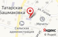 Схема проезда до компании Детский сад в Татарской Башмаковке