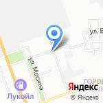 Детская школа искусств №20 на карте Астрахани
