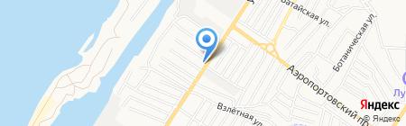 Центр социальной поддержки населения Советского района г. Астрахани на карте Астрахани