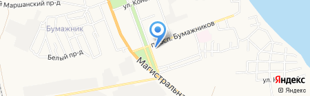Электрика на карте Астрахани