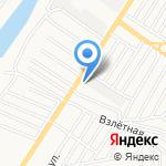 Подковка на карте Астрахани