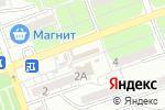 Схема проезда до компании Родник в Астрахани