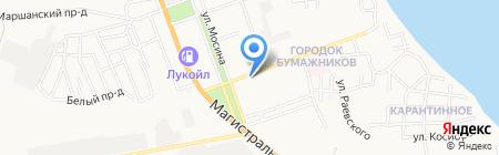 Людмила на карте Астрахани