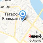 Мечеть №6 на карте Астрахани