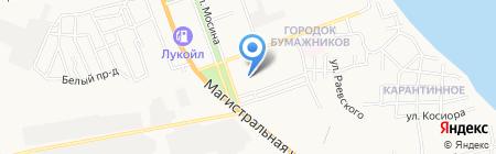 Детский сад №2 Петушок на карте Астрахани