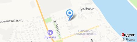 Судебный участок Трусовского района на карте Астрахани