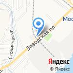 Универсальный автоцентр на карте Астрахани