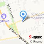 Колизей на карте Астрахани