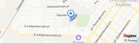 ГАЛА на карте Астрахани