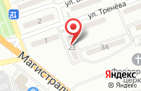 Схема проезда до компании Эверест в Астрахани