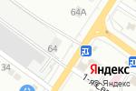 Схема проезда до компании На крючке в Астрахани