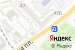 Схема проезда до компании Гефест в Астрахани
