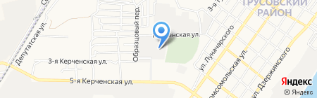 Карьерземледобыча на карте Астрахани
