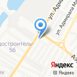 Шашлычный дворик на карте Астрахани
