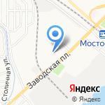 Средняя общеобразовательная школа №55 на карте Астрахани