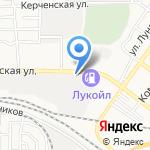 Фаэтон на карте Астрахани