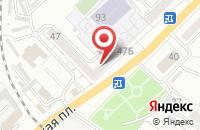 Схема проезда до компании Лойд в Астрахани
