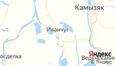Отели города Иванчуг на карте
