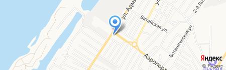 У Шурика на карте Астрахани