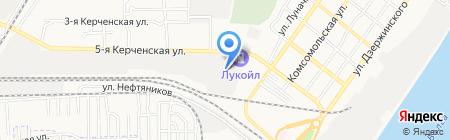 Мир окон на карте Астрахани