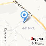 Средняя общеобразовательная школа №35 на карте Астрахани